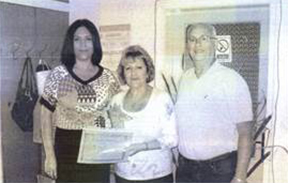 UMAD members Lily & Jim Simoff with Orphanage Director Natasha Mladenovska